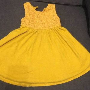 Beautiful yellow dress (size 2)